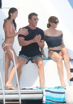 Sylvester Stallone Photos: Sylvester Stallone & Family Vacation In France