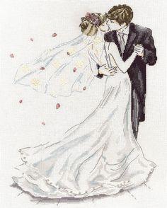 Wedding Dance Cross Stitch Kit: Cross stitch (Design Works Crafts, 2844)