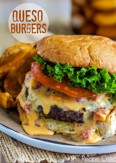 Tons of Queso Burgers!!