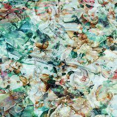 Abstract Flowers 2015, 2016, Autumn, Desen, Design, Designer, Dijital baskı, Dress, Floral, Flowers, Metraj, Pattern, Patternbank, Print, Repeat, Spring, Summer, Textile, Trends, Winter, Women, Women tops