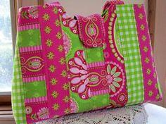Patchwork Handbag Purse Tote Bohemian Splendor $41.00 #teamsellit