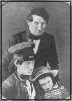 George B. Here with his family and as Lieutenant in Mexican American War, America Civil War, Civil War Photos, History, Soldiers, Mountain, Pictures, Photos, Historia