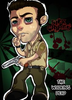 Chibi Rick Grimes by *nupao