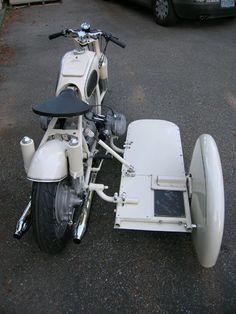BMW Racing Sidecar.
