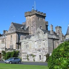 Relais & Chateaux - Standing high above a dramatic coastline overlooking the Irish sea, in the south west of Scotland's historic lowlands, Glenapp is a family owned and occupied baronial castle set in an area of outstanding and unspoiled natural beauty. Glenapp Castle - Scotland #relaischateaux #properties