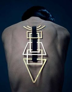 accesorized #geometric #contemporary #jewelry  #ContemporaryJewelry