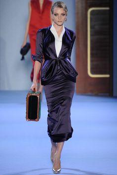 Ulyana Sergeenko - Haute Couture Spring Summer 2014 - Shows - Vogue. Haute Couture Style, Couture Mode, Spring Couture, Couture Fashion, Fashion Week, Paris Fashion, Runway Fashion, High Fashion, Fashion Show