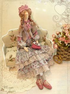 Купить куклы Тильды ручной работы в интернет-магазине в Москве - кофейные феи кофочки, домашние ангелы и куклы в стиле Бохо