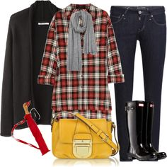 """Fall weather outfit"" by luv2shopmom ❤ liked on Polyvore"