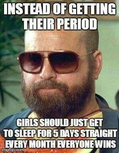Sleep instead of period