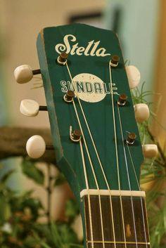 "c.1955 Harmony Stella ""Sundale"" Parlor Guitar"