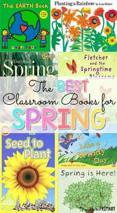 Spring activities for kids | Spring classroom activities and resources for kids, including ideas for teaching art, poetry, literacy and life sciences. Check out the spring book and video list and grab FREE spring resources! #spring #springactivities #springart #springcrafts #craftsforkids #artforkids #teacherfreebie