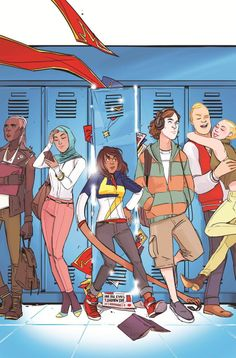 Description The All-New Ms. Marvel has already gained international fame. Find out why the most exciting new Marvel hero is also the most loveable! Ms Marvel Captain Marvel, Miss Marvel, Marvel Dc Comics, Comic Book Covers, Comic Books Art, Comic Art, Gi Joe, Ms Marvel Kamala Khan, Secret Warriors