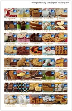 This site has lots of English Tea Party Recipes and Info too. Yum!
