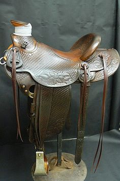 1985 Dale Harwood Wade saddle by francaseven, via Flickr