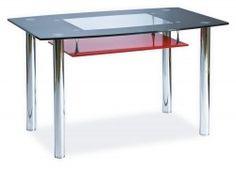 STÓŁ TWIST A OP CZERWONO/CZARNY Outdoor Tables, Outdoor Decor, Wood Glass, Drafting Desk, Teak, The Row, Solid Wood, Modern, Dining Table