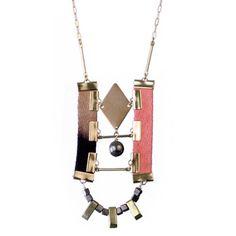 Clocktower Necklace   by Sarah Fox