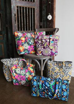 Vera Bradley Table Talk with a few members of the Product Development team and their favorite gym bags.