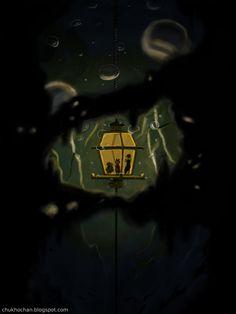 The Secret of Nimh - Underwater Lantern by Chukho.deviantart.com on @DeviantArt