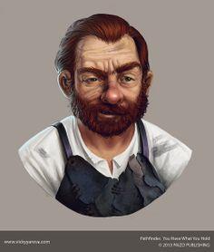 male human dwarf gnome craftsman