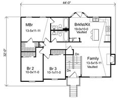 1970s Split Level House Plans Split Level House Plan 26040SD