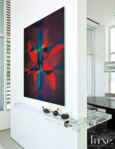 35 Foyers with Statement Art Pieces   LuxeDaily - Design Insight from the Editors of Luxe Interiors + Design