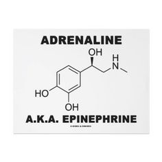 Adrenaline. -- maybe a tattoo idea for the end of the year?!