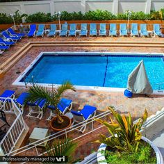 Our pool is ready for you! Ft Lauderdale Beach Resort - Ft Lauderdale, FL  #VRIvacations #amazing #condo #vacation #rentals #beach