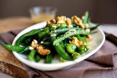 Green Bean and Fava Bean Salad With Walnuts Recipe - NYT Cooking