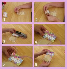 instructions for fold over labels: NOTE: DO NOT USE STAPLES on FOOD PACKAGING!!  Use bags with seals or heat seal your bags. Tutorial link:  http://glorioustreats.blogspot.com/2010/02/pretty-packaging-for-cookies.html