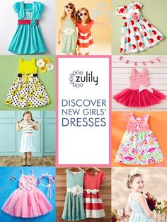 Find the Perfect Dress for your Little Darling at prices up to 70% Off Retail! Hundreds of styles added daily sure to delight & excite your girl no matter what her style is like!