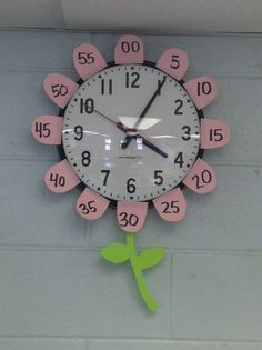 This is the easiest way to add the minutes to your clock. Just round off a few sticky notes and you're done.