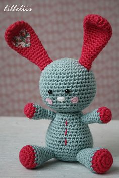 Ravelry: Funny bunny FREE pattern by Mari-Liis Lille.
