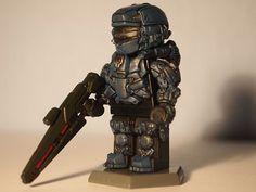 Halo 4 Brick Affliction Spartan Warrior
