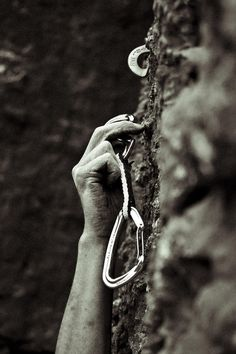 I do rope-climbing and lead-climbing :-)
