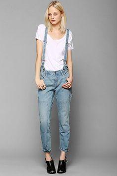 Transition Denim - Suspender Overalls - Extraordinary Fashion Blog