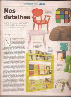 O jornal O Estado de São Paulo deu dicas de presentes para o Dia das Crianças, para alegrar o quarto dos pequenos! A estante de parede Legno, da MMM, foi destaque: http://www.meumoveldemadeira.com.br/produto/estante-de-parede-legno-grande-amarelo-canario.