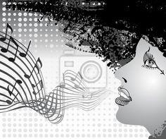 Singing - Wall Murals • Photo Wallpaper • PIXERSIZE.com