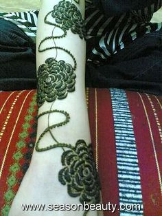 Arabic Mehndi Designs 6