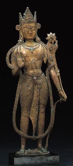 Bodhisattva Avalokiteshvara, Western Tibet/Kashmir, 12th c.