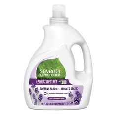 Seventh Generation Lavender Fabric Softener – 90 Fl Oz : Target – Naturliche Seife Seventh Generation Laundry Detergent, Sustainable Supply Chain, Disinfecting Wipes, Static Cling, Lavender Blue, Fabric Softener, Full House, Health Facts, Product Label