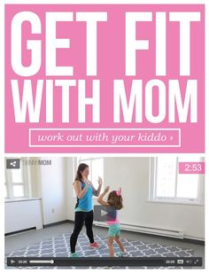 Work Out with Your Kid! [VIDEO