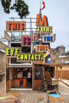 Movement_cafe, Morag Myerscough, photo credit Gareth Gardner - designboom | architecture & design magazine