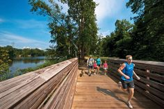 Image result for pictures of riverwalk trail, rock hill, sc
