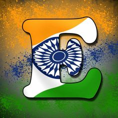 F letter tiranga pic Tiranga Image for whatsapp Independence Day Status, Independence Day Pictures, 15 August Independence Day, Indian Independence Day, Indian Flag Wallpaper, Indian Army Wallpapers, Name Wallpaper, Alphabet Wallpaper, India Republic Day Images