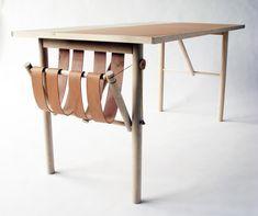 David Ericsson design sur Cuir