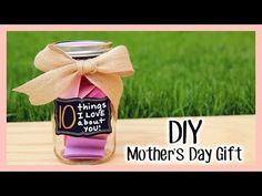 Diy mothers day gift 10 things i love about you gift diy i had no idea what to get for my mom until i saw what she did diy mothers day giftsdiy solutioingenieria Choice Image