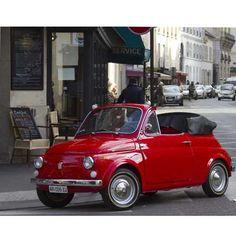 Cute red bug car :-)