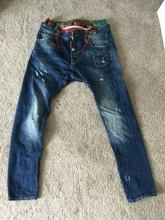 Dsquared2 drop crotch jeans