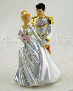 Cake Topper - cinderella-wedding-theme   Disney Princess ...